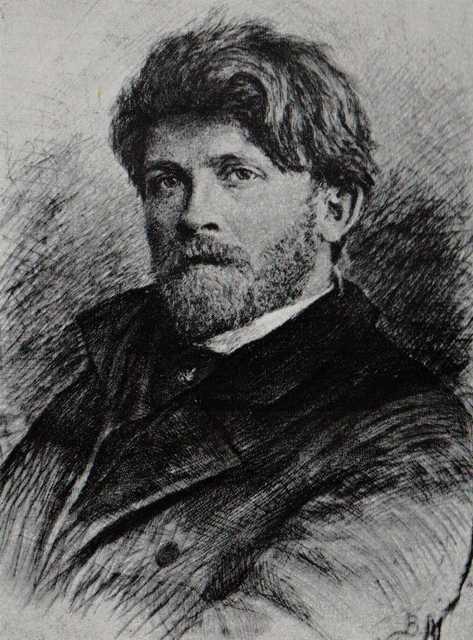 В.Матэ. Портрет А.П. Рябушкина