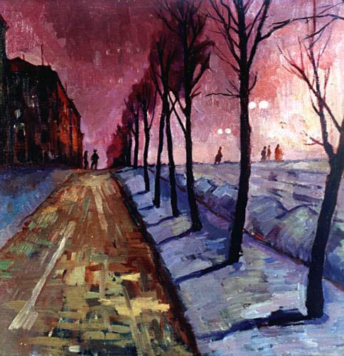 Валентина Авдышева. Улица Куйбышева. 1961.