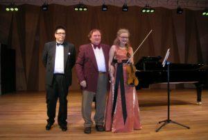 Мика Лилиус, Геннадий Вавилов, Вииви Хаккарайнен на концерте в Карельской Государственной консерватории