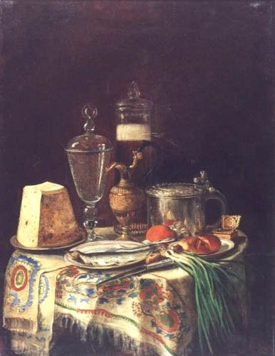 М.Ф.Романова. Натюрморт. 1869