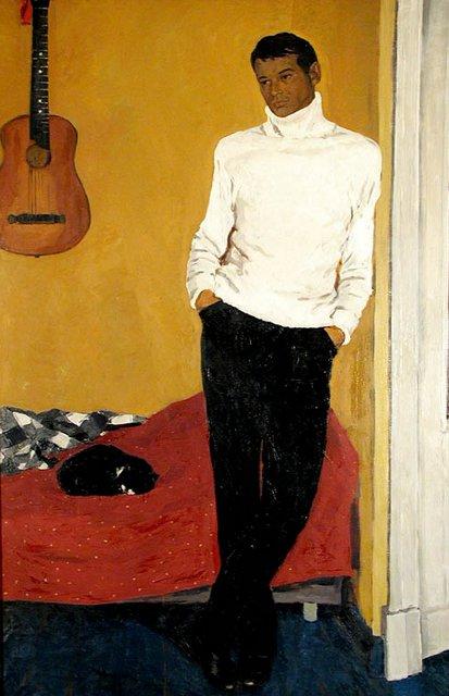 Е. Пехова. Портрет актера Игоря Румянцева. 1967. Холст, масло.