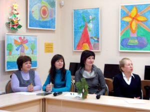 Специалисты МИИ РК: Марина Коршакова, Наталья Труфанова, Екатерина Рычкова, Ирина Куспак