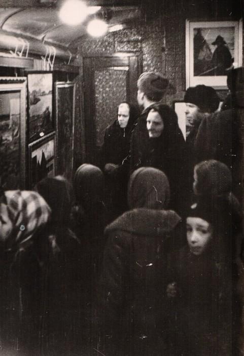 """Западно-карельская ж/д. Вагон-музей. Выставка."""