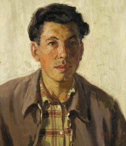 Поморцев Б.Н. Автопортрет. 1959