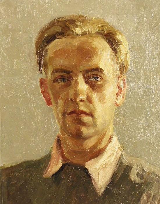 Буторов К.Л. Автопортрет. 1946