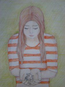 3 место. Зубаревская Александра. 12 лет. Крохотное создание
