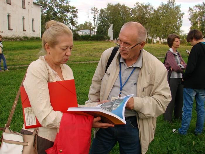 Участники конференции от МИИРК И. Куспак и В. Платонов