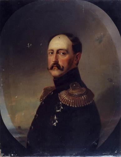 Портрет Николая I. Неизвестный художник вт.пол.XIXв.