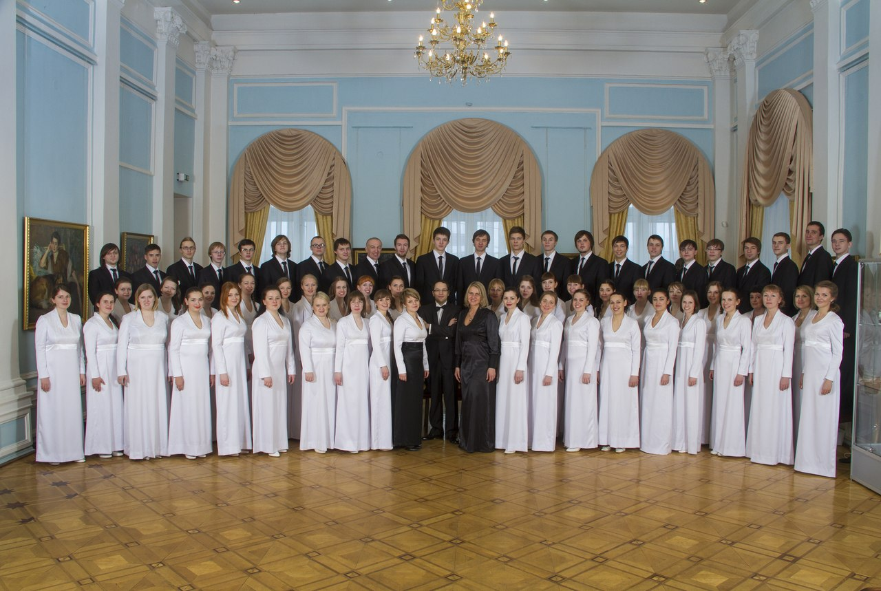 Академический хор ПетрГУ. Фото: Виталий Голубев