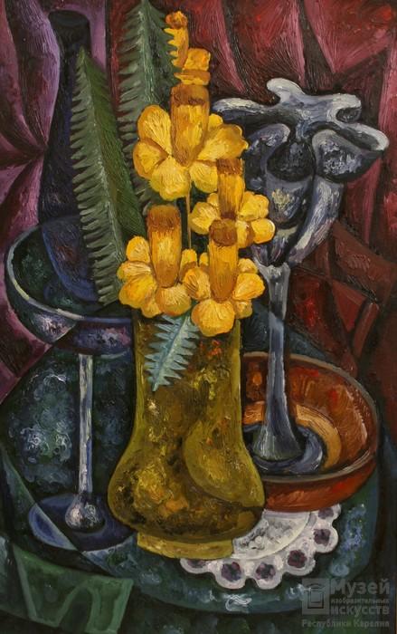 Желтые цветы_1986