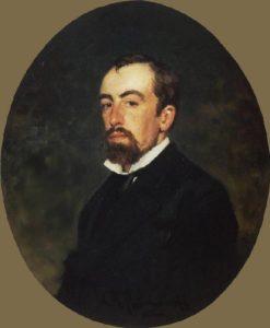 И.Е. Репин. Портрет В.Д. Поленова. 1877. Гос. Третьяковкая галерея