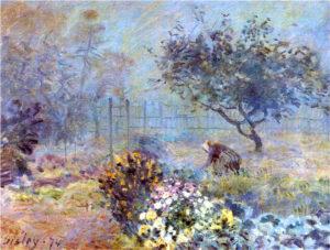 Туманное утро. 1874. Музей д'Орсе. Париж