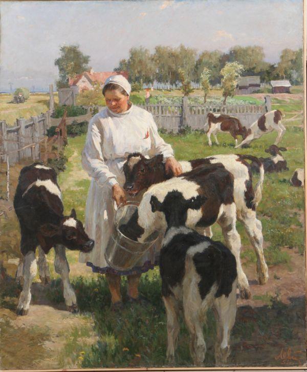 Юбилей одной строкой – 95 лет со дня рождения художника Анатолия Павловича Левитина (1922)