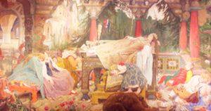 Спящая царевна, В.М. Васнецов