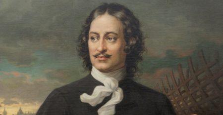Толяндер Август. 1835-1910. Портрет Петра I. 1874