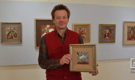 Работа Владимира Зорина «Ангел над городом» нашла своего счастливого обладателя
