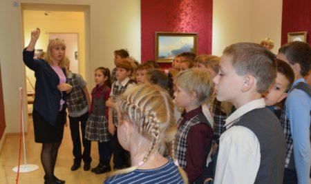 18-19 декабря 2017г. в Музее ИЗО пройдет обучающий семинар от Государственного Русского Музея по программе «Здравствуй, музей!»