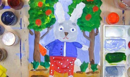 Объявляем конкурс детского рисунка к новой выставке Музея ИЗО РК «88 зайцев»