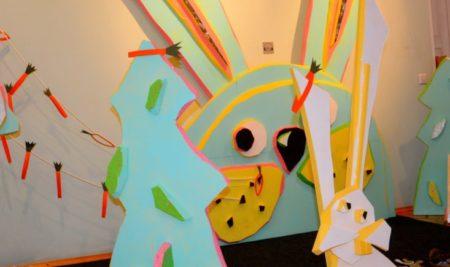 Играем в Музее на выставке «88 зайцев»