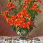 андрияка, лилии