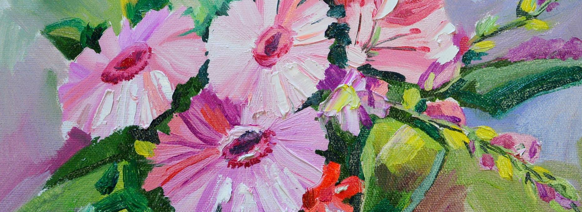 герберы, мало, цветы