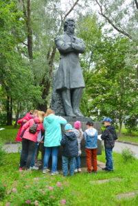 музейная академия, дети, мастер-класс, пушкин, скульптур