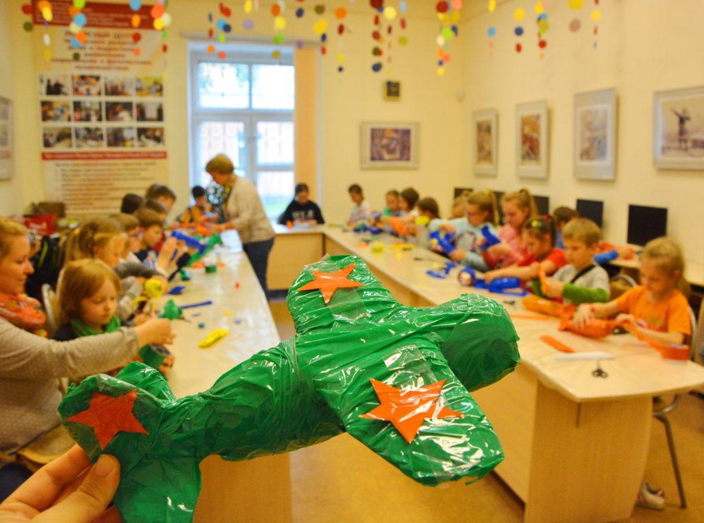 музейная академия, дети, мастер-класс