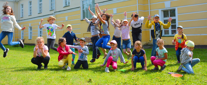 музейная академия, дети, веселье, лето