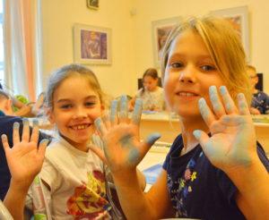 музейная академия, дети, творчество, пастель, мастер-класс