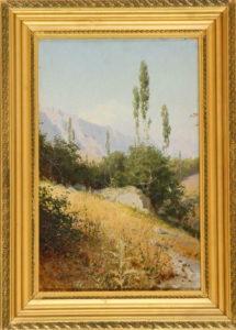 ярцев, горный пейзаж, крым