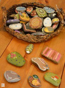 калевала, интерактив, камни, расписные камни