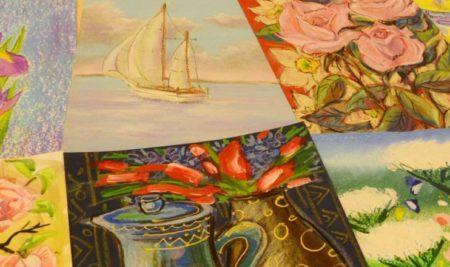 20 октября рисуем кактусы в детской изостудии Маргариты Юфа
