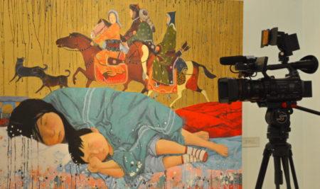 В Музее начала работу выставка Зорикто Доржиева