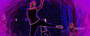 скетчинг танца