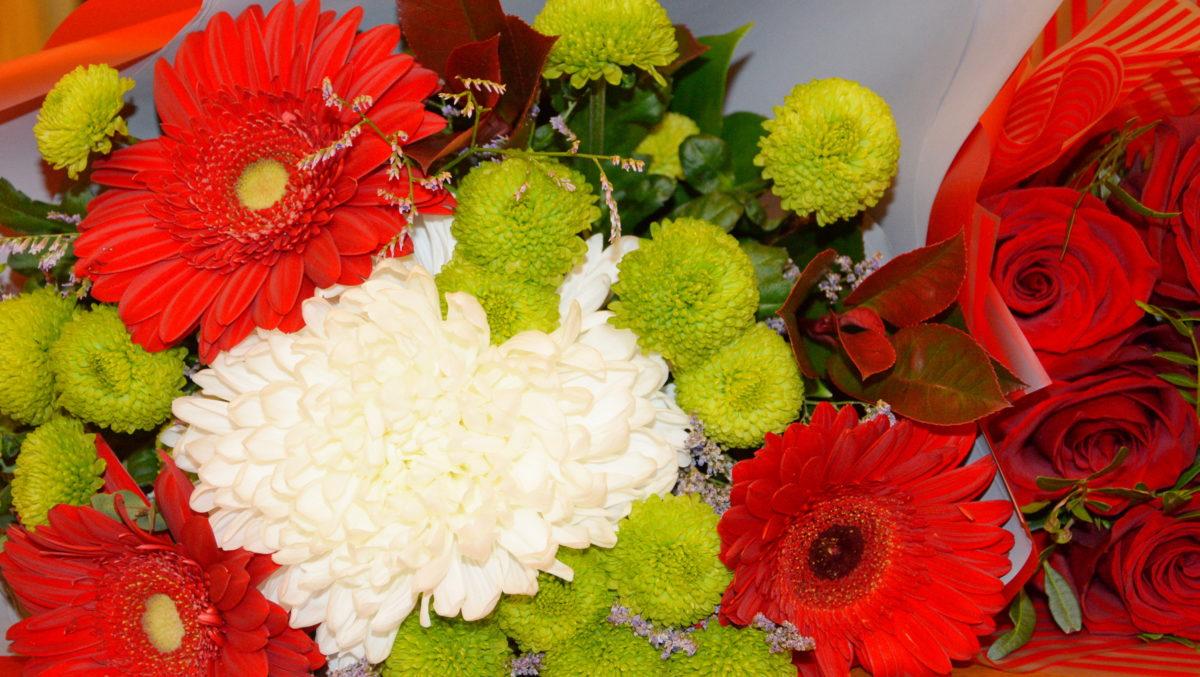 каштанов, цветы