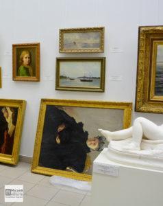 4 шедевра, монтаж, русский музей