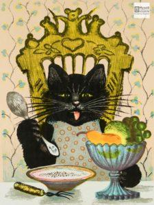 васнецов, кот, день вегетарианства,