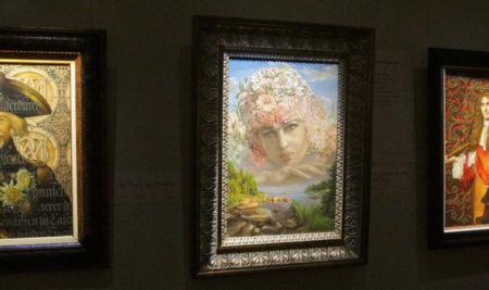 6 декабря в Музее ИЗО состоялось открытие выставки Никаса Сафронова