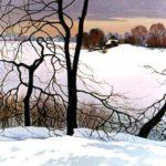 поленков, зима