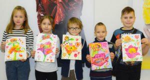изостудия, дети, рисование, детское творчество