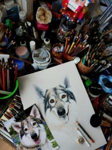 Ирина Гармашова-Коотон, собака