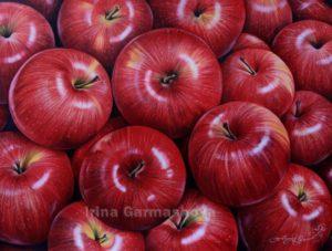 Ирина Гармашова-Коотон, яблоки