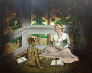 маленький принц, поталь, чтение, мама, уют, анна красная