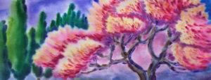 маргарита пермяква горизонт, цветы, весна