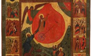 пророк илья, иконы, северные письма