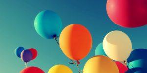 шары, цирк, горизонт