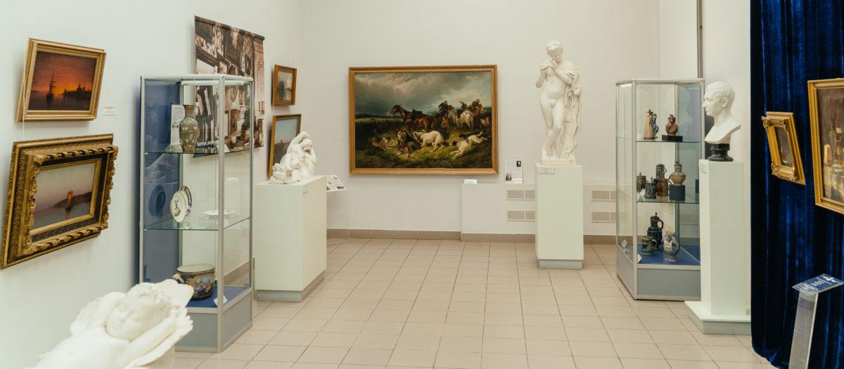 горизонт, западно-европейское искусство