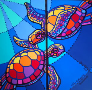 ольга ригер, черепаха