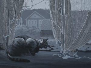 анна грязнова, кот, кошка