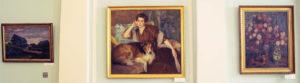 браз, портрет жены, русское искусство, горизонт
